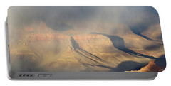Storm Over The Grand Canyon Portable Battery Charger