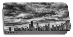 Storms Over Chicago Portable Battery Charger