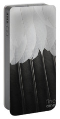 Portable Battery Charger featuring the photograph Stormy Feathers by Judy Whitton