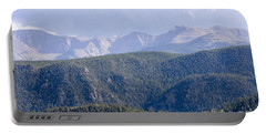 Stormy Pikes Peak Portable Battery Charger