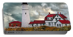 Stormy Portland Head Light Portable Battery Charger