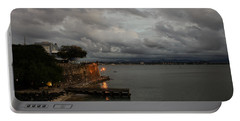 Portable Battery Charger featuring the photograph Stormy Puerto Rico  by Georgia Mizuleva