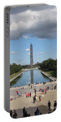 Clouds Over Monument Portable Battery Charger
