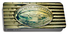 Stout Metal Airplane Co. Emblem Portable Battery Charger