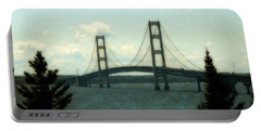 Straits Of Mackinac Portable Battery Charger