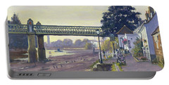 Strand On The Green Oil On Canvas Portable Battery Charger