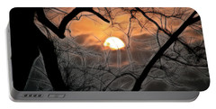 Portable Battery Charger featuring the photograph Strange Morning by EricaMaxine  Price