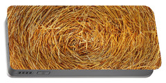 Straw Texture Portable Battery Charger