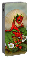 Strawberry Dragon Portable Battery Charger