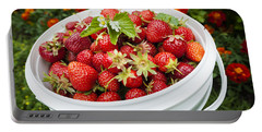 Strawberry Harvest Portable Battery Charger