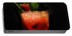 Strawberry Mojito Portable Battery Charger