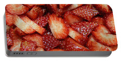 Strawberry Slices Portable Battery Charger