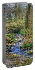 Portable Battery Charger featuring the photograph Stream In Wales by Doc Braham