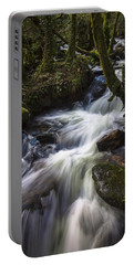 Stream On Eume River Galicia Spain Portable Battery Charger