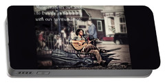 Street Beats Inspiration Portable Battery Charger by Melanie Lankford Photography
