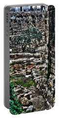 Portable Battery Charger featuring the photograph Street In Jerusalem by Doc Braham