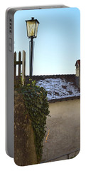 Portable Battery Charger featuring the photograph Street Lamp At The Castle  by Felicia Tica