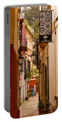 Streets Of Seville  Portable Battery Charger by Andrea Mazzocchetti