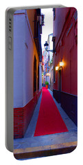 Streets Of Seville - Red Carpet  Portable Battery Charger by Andrea Mazzocchetti