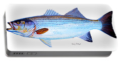 Striped Bass Portable Battery Charger