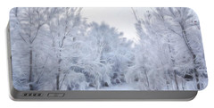 Stroll Through A Winter Wonderland Portable Battery Charger
