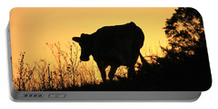 Portable Battery Charger featuring the photograph Strolling Into The Sunset by Penny Meyers
