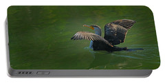 Strutting Cormorant Portable Battery Charger