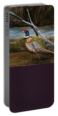 Strutting Pheasant Portable Battery Charger