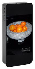 Study In Orange And Grey Portable Battery Charger