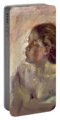 Study Of A Girls Head, Late 1870s Portable Battery Charger