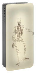 Study Of The Human Figure, Posterior View, From A Comparative Anatomical Exposition Portable Battery Charger