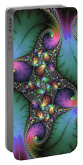Portable Battery Charger featuring the digital art Stunning Mandelbrot Fractal by Matthias Hauser