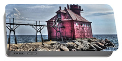 Portable Battery Charger featuring the photograph Sturgeon Bay Ship Canal by Deborah Klubertanz
