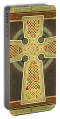 Stylized Celtic Cross Portable Battery Charger