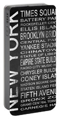 Subway New York 1 Portable Battery Charger