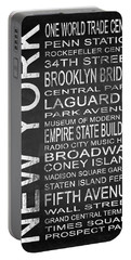 Subway New York 3 Portable Battery Charger