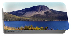 Sugarloaf Hill In Summer Portable Battery Charger by Barbara Griffin