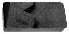 Suit Texture Portable Battery Charger