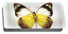 Sulphurs - Butterfly Portable Battery Charger by Katharina Filus
