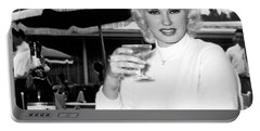 Sultry Mamie Van Doren Portable Battery Charger
