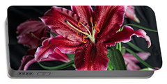 Sumatran Lily Portable Battery Charger by Dave Files