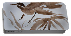 Sumi Bird Portable Battery Charger by Beverley Harper Tinsley