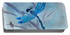 Sumi Dragonfly Portable Battery Charger by Beverley Harper Tinsley