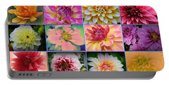 Summer Time Dahlias Portable Battery Charger