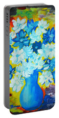 Summer Daisies Portable Battery Charger