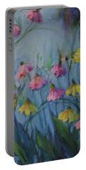 Summer Flower Garden Portable Battery Charger