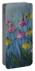 Summer Flower Garden Portable Battery Charger