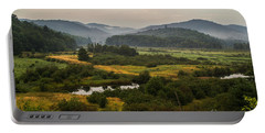 Portable Battery Charger featuring the photograph Summer In New York by Sue Smith