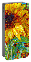 Summer In The Garden Portable Battery Charger by Mandy Budan