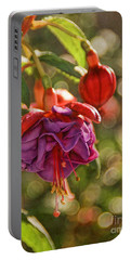 Portable Battery Charger featuring the photograph Summer Jewels by Peggy Hughes